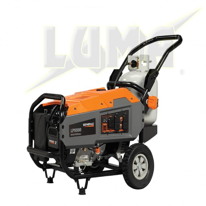Generador port til generac 5500 watts 389 cc de gas - Generador de gas ...